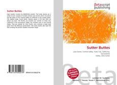 Buchcover von Sutter Buttes