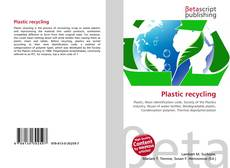 Bookcover of Plastic recycling
