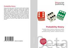Bookcover of Probability theory