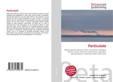 Particulate kitap kapağı