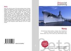 Bookcover of Navy
