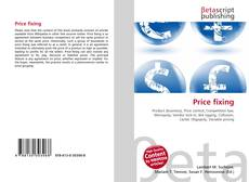 Bookcover of Price fixing