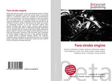 Bookcover of Two-stroke engine
