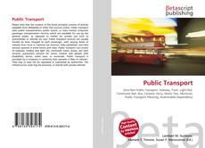 Bookcover of Public Transport