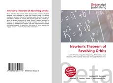 Bookcover of Newton's Theorem of Revolving Orbits