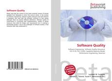 Bookcover of Software Quality