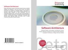 Software Architecture kitap kapağı