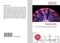Borítókép a  Planck Units - hoz