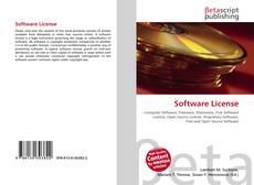 Portada del libro de Software License