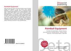 Portada del libro de Paintball Equipment