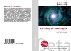 Bookcover of Relativity of Simultaneity
