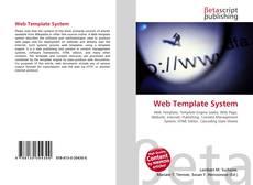 Capa do livro de Web Template System