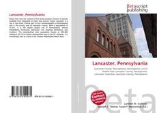 Capa do livro de Lancaster, Pennsylvania