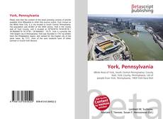 Bookcover of York, Pennsylvania