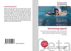 Capa do livro de Swimming (sport)