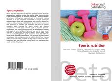 Copertina di Sports nutrition
