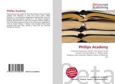 Bookcover of Phillips Academy