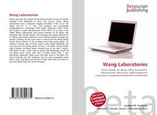 Capa do livro de Wang Laboratories