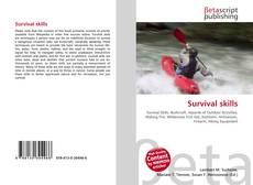 Bookcover of Survival skills