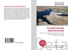 Bookcover of Pumped-storage Hydroelectricity
