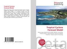 Capa do livro de Tropical Cyclone Forecast Model