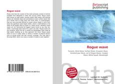 Capa do livro de Rogue wave