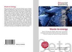 Copertina di Waste-to-energy