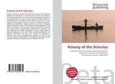 Capa do livro de Poverty of the Stimulus