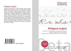 Bookcover of Philippine English