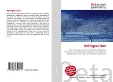 Bookcover of Refrigeration