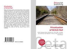Couverture de Privatisation of British Rail