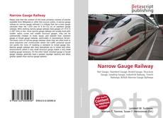 Обложка Narrow Gauge Railway