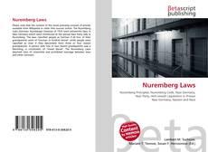 Обложка Nuremberg Laws