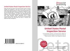 Bookcover of United States Postal Inspection Service