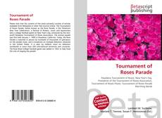 Bookcover of Tournament of Roses Parade
