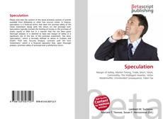 Buchcover von Speculation