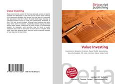 Bookcover of Value Investing
