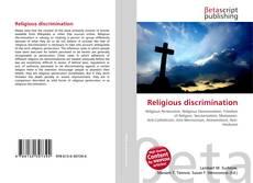 Bookcover of Religious discrimination