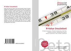 Capa do livro de R-Value (insulation)