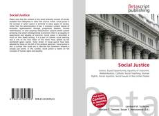 Bookcover of Social Justice