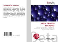 Capa do livro de Single Molecule Electronics