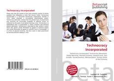 Обложка Technocracy Incorporated