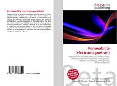 Bookcover of Permeability (electromagnetism)