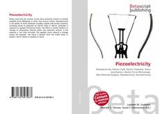 Bookcover of Piezoelectricity