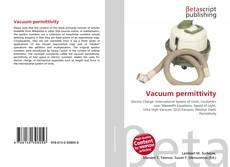Bookcover of Vacuum permittivity