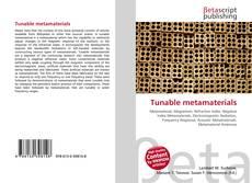 Capa do livro de Tunable metamaterials