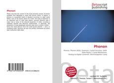 Bookcover of Phonon