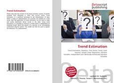 Bookcover of Trend Estimation