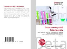 Copertina di Transparency and Translucency