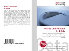 Bookcover of Plastic Deformation in Solids